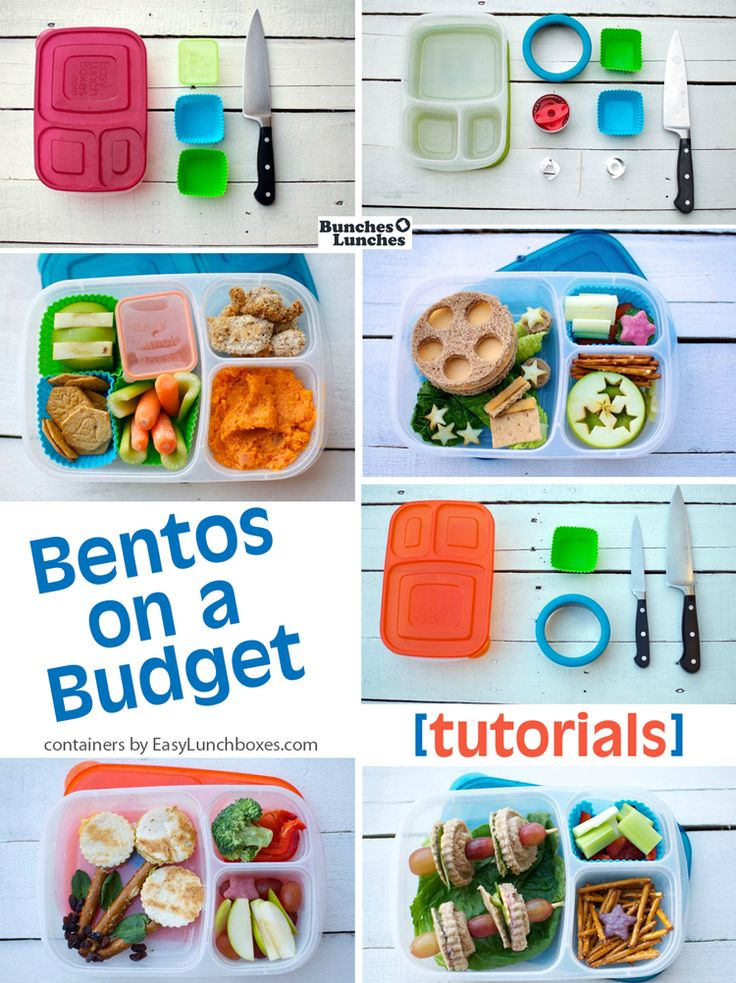 Bentos on a Budget │Shoestring Bentos by BunchesOLunches