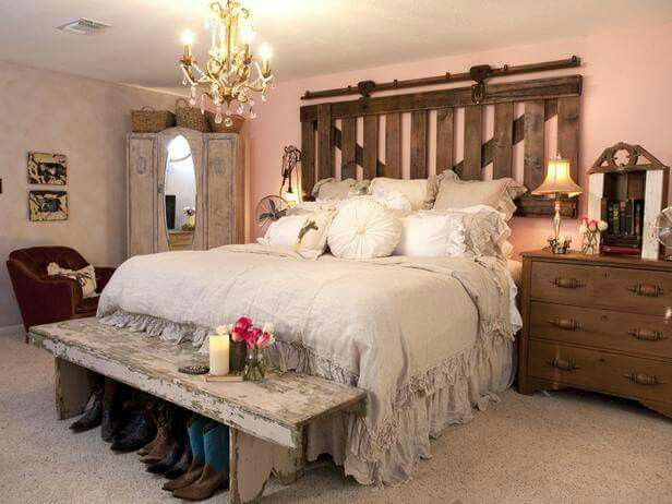 Before And After Images From Hgtv S Flea Market Flip Country Bedroomsrustic Bedroomscountry Bedroom