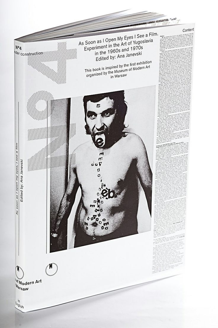 """""""As soon as I open my eyes I see a film. Experiment in the Art of Yugoslavia in the 1960s and 1970s"""", ed. by Ana Janevski. The book depicts the relations of amateur film in former Yugoslavia with visual arts, revealing the mutual influence of filmmakers and artists from others fields of art."""