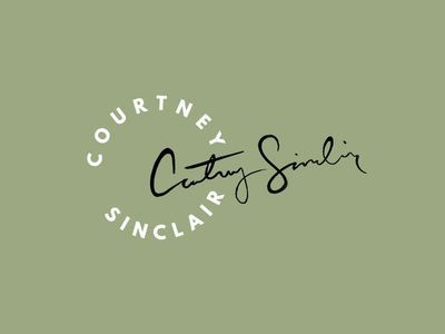Courtney Sinclair Logo Mark by Hannah Rose Beasley