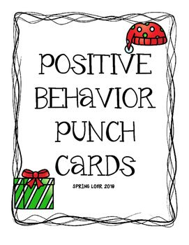 the 25 best ideas about behavior punch cards on pinterest punched card positive behavior. Black Bedroom Furniture Sets. Home Design Ideas