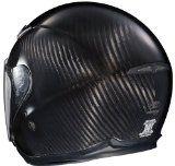 Joe Rocket RKT-Carbon Pro Open Face Carbon Fiber Motorcycle Helmet (Black/Titanium, Small)