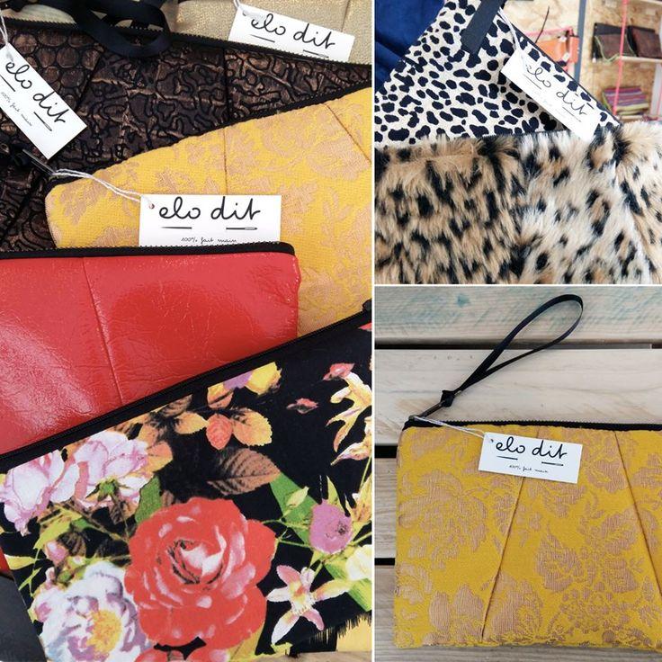//Collection 54 - ELO-DIT// #Pochettes #Studio54 #Club #NewYork #glamour #rétro #disco - #HandMade #MadeInMarseille #MadeInFrance https://www.facebook.com/Elo-dit-166811400109439/