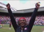 Highlights: Women's Gold Medal Match Serena Williams vs. Maria Sharapova - Tennis Video   NBC Olympics