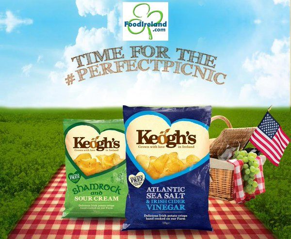Time for the perfecpicnic - Order @Keoghsfarm crisps in USA online here: http://www.foodireland.com/c/keoghs.html
