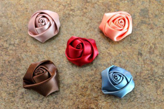https://www.etsy.com/ca/shop/LittleShneebs https://www.facebook.com/littleshneebs Satin Rosette flower headband 1 1/2'' by LittleShneebs on Etsy, $4.00