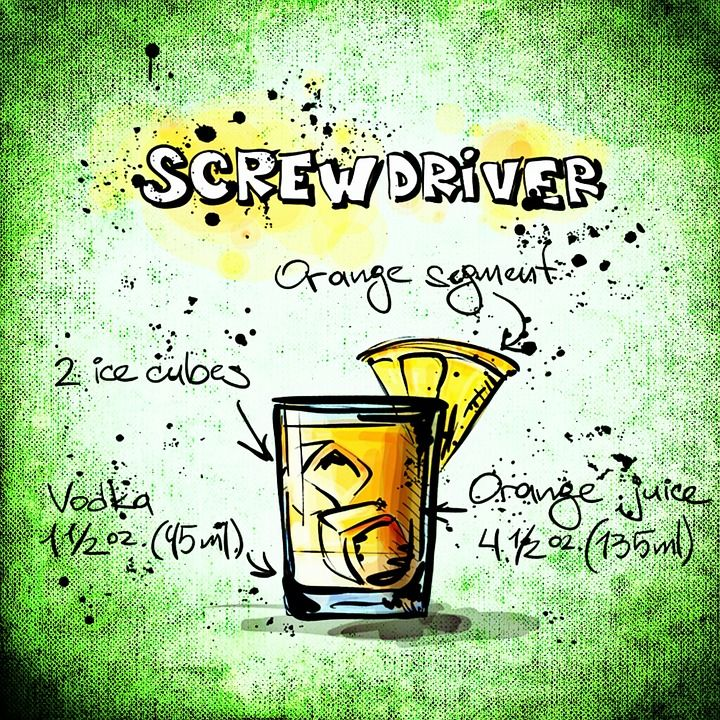 Free Image on Pixabay Screwdriver, Cocktail, Drink