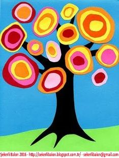 Şekerli Balon: Ağaç