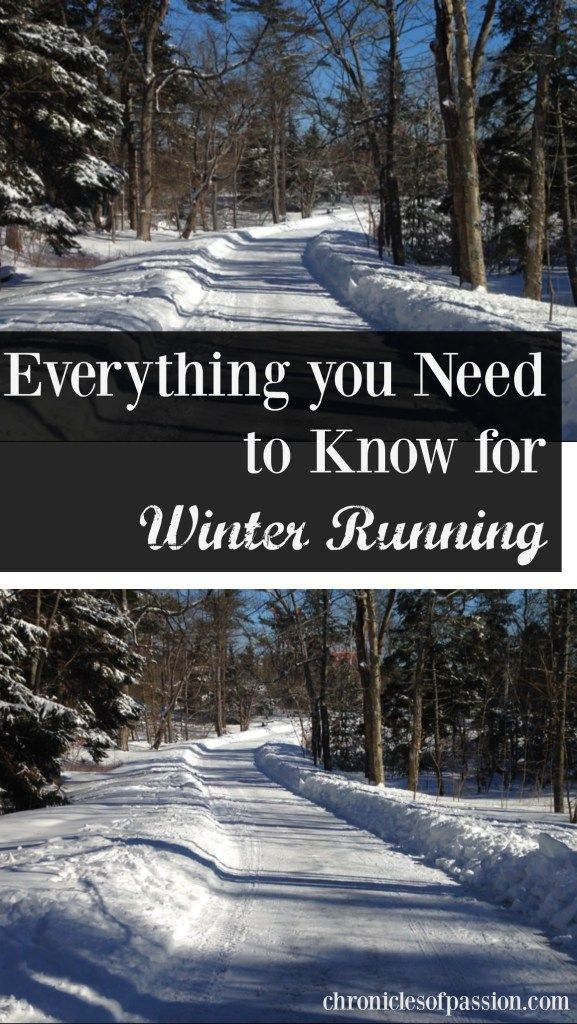Everything you Need to Know for Winter Running