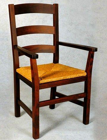17 migliori idee su sedia rustica su pinterest for Sedia antica con braccioli