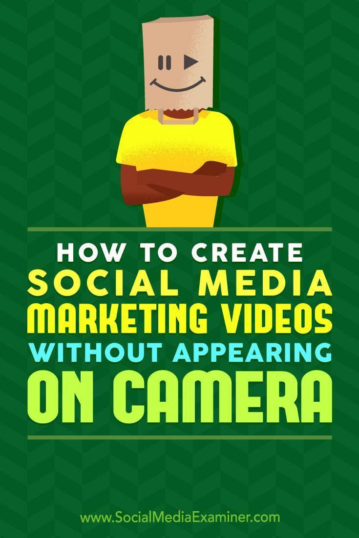 Do you want to market your business with video?  Are you unsure about appearing on camera?  You can easily create compelling and budget-friendly videos while staying comfortably off-screen.  In this article, youll discover how to gather and combine vide