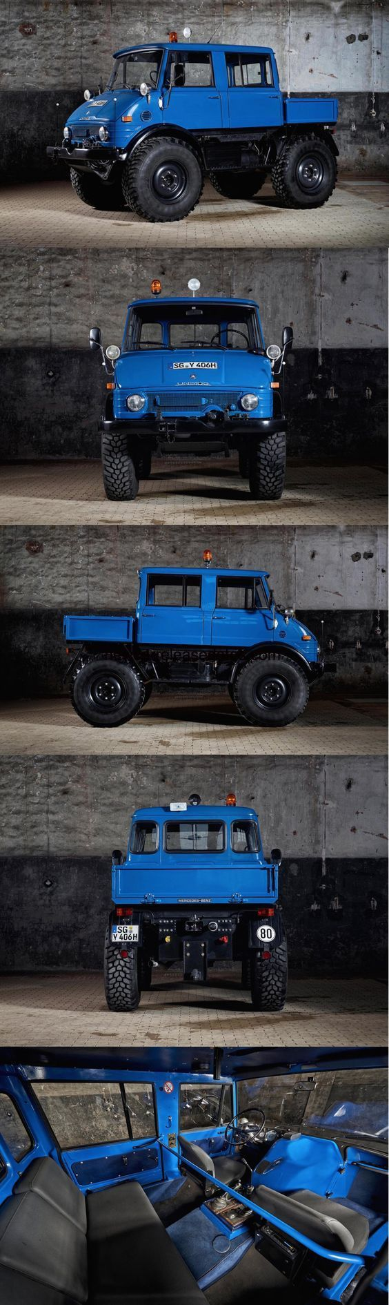"ALL NEW "" 2017 MERCEDES-BENZ UNIMOG 406"", 2017 Concept Car Photos and Images, 2017 Cars"
