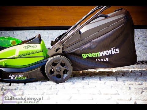Kosiarka akumulatorowa 40v marki #greenworks - recenzja opinie użytkowników