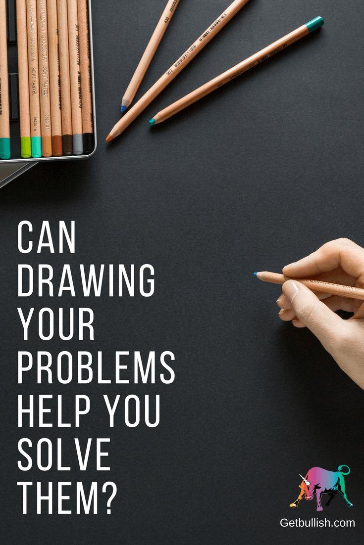 Can Drawing Your Problem Help You Solve it? A Get Bullish Q&A with Jen Dziura #getbullish #draw #artist #problems #life #q&A #work #career #getbullish