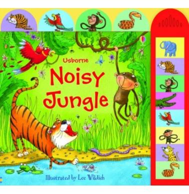 Usborne Noisy jungle