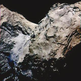 G.A.B.I.E.: La nave Rosetta descubre indicios de hielo en el c...