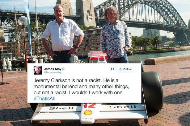 richard hammond top gear | Richard Hammond defend Jeremy Clarkson over use of n-word saying Top ...