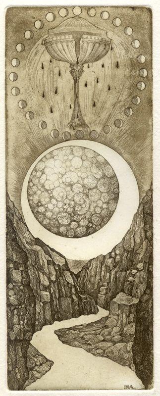 la luna Iona Tarot - Giona Fiochi