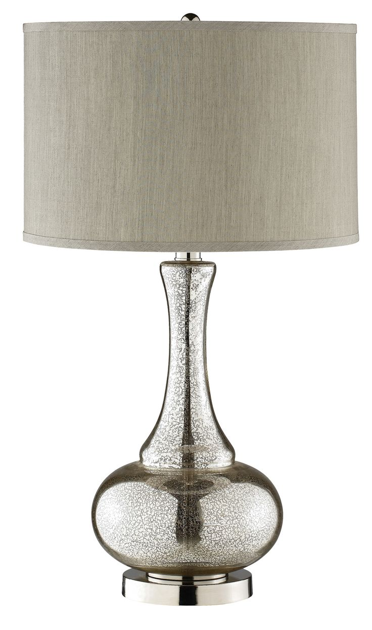 Glass bedroom lamps - Stein World Casual Elegance Glass Gourd Table Lamp