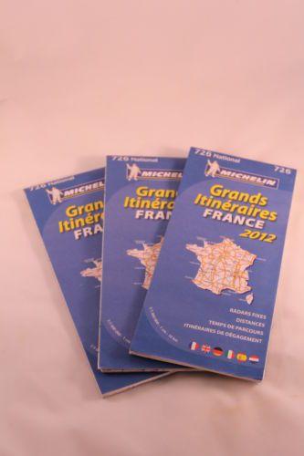 carte-routiere-de-la-france-edition-2012