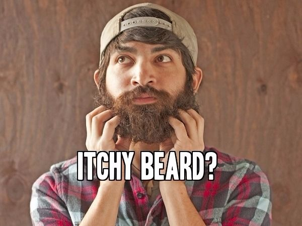 how to get over itchy beard