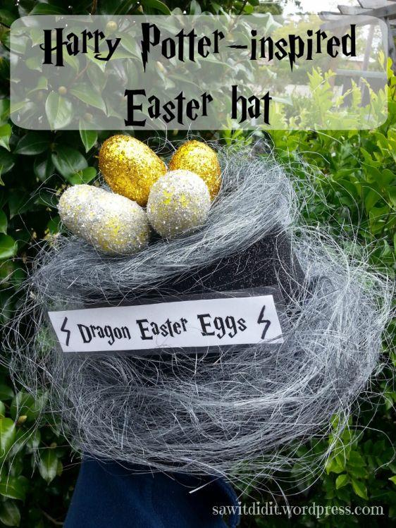 Easter hat, Harry Potter inspired (768x1024)