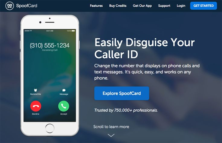 Did you know that's very easy now for ANYONE to call you and make your phone display show any number they want? Here is an app that lets you change the number, your voice, and the background noise! Scary.