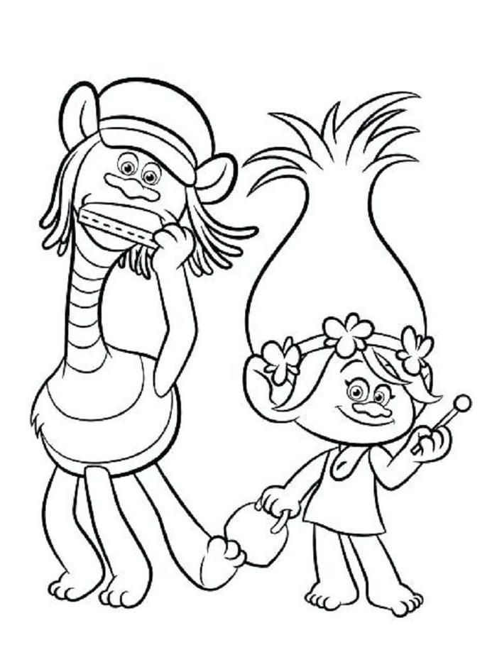 Trolls Coloring Pages Pdf Cartoon Coloring Pages Poppy Coloring Page Coloring Pages