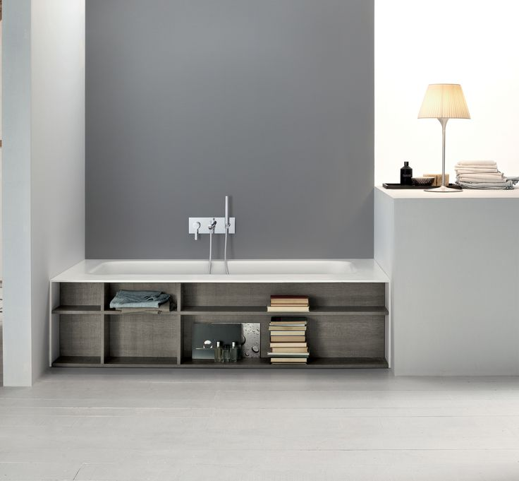 Mastellau0027s Kellybook Bath Features Hand Built In Shelving   Available From  Alternative Bathrooms Alternativebathrooms.com