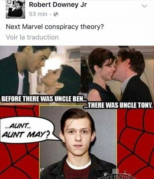 What if this is why Tony acts fatherly towards him?! <<<oooooooo this would be interesting!!!!