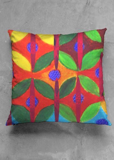 Interior Deco Cushions/ Original Pattern