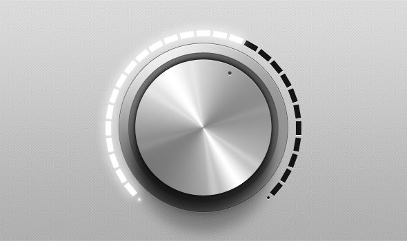 Royce volume knob | Ui Parade – User Interface Design Inspiration