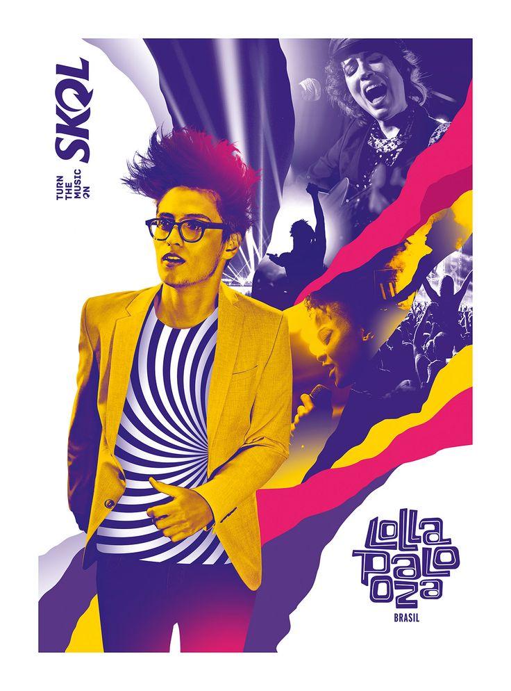 Skol MUSIC-ON   Festivais on Behance