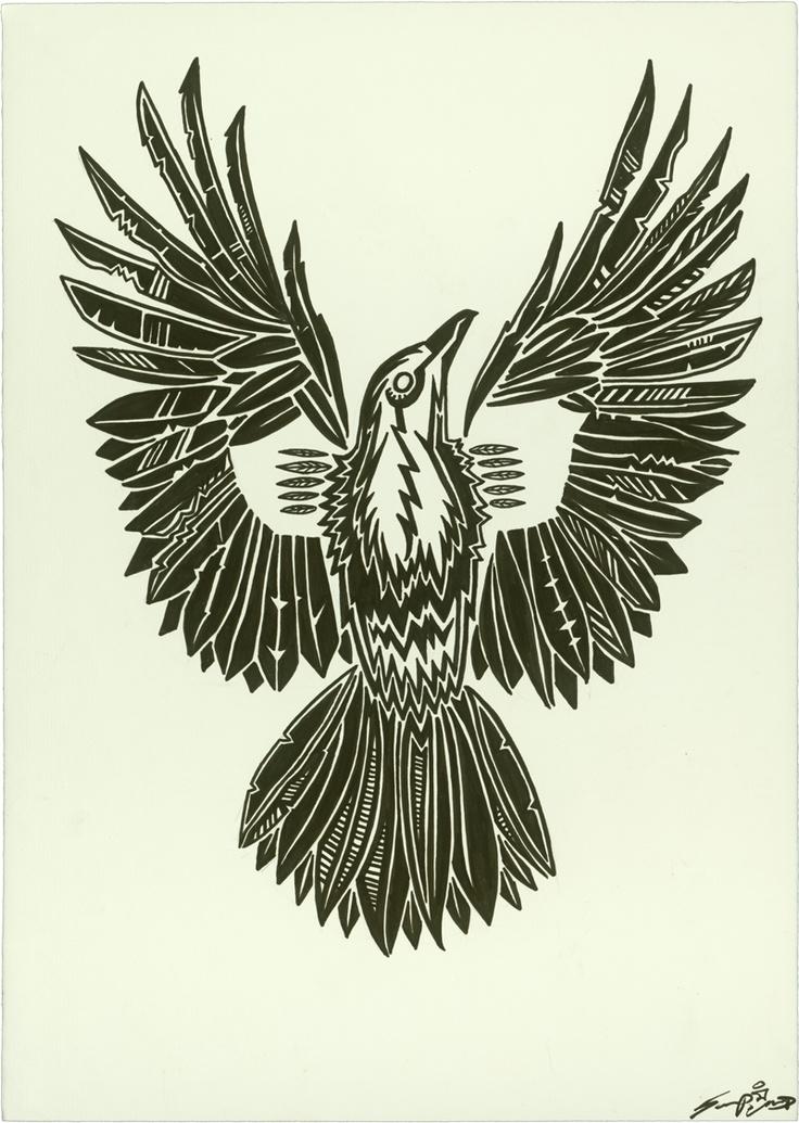 """Mechanical Flight""  Ink on Paper 19.5 x 27.5"