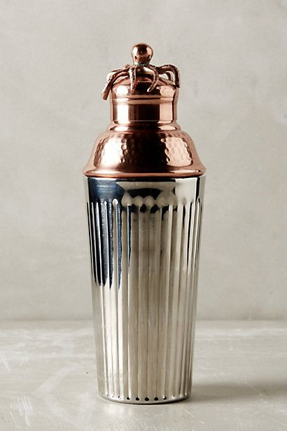 Anthropologie EU Shipwright Cocktail Shaker