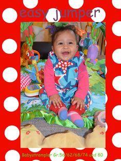 Strampler, strampelhose fürs Baby nähen I 56 - 80