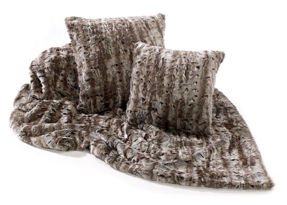 45 best mink faux fur throws at for Fur throws for sofas