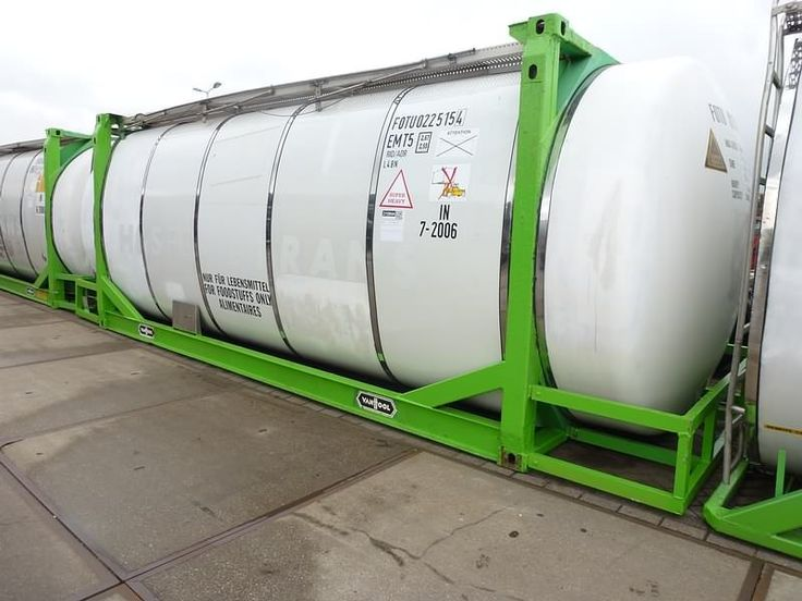For sale: Used and second hand - Container VAN HOOL Tank FOOD/CHEM. 30.160 L