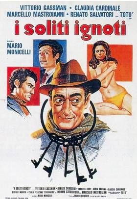 Italian Movies ~ #movies #film #director #Italianmovies #cinema ~ I soliti ignoti. 1958 . Mario Monicelli