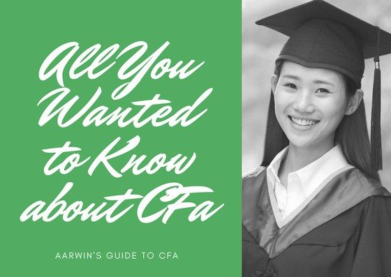 All you wanted to know about the CFA Program or CFA exam