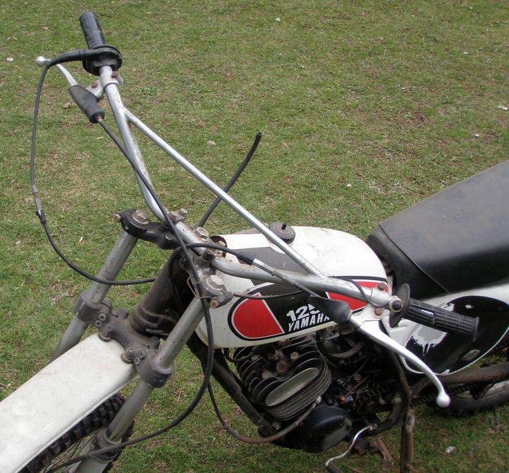 Vintage Yamaha 125 Dirt Bike MX125A | eBay