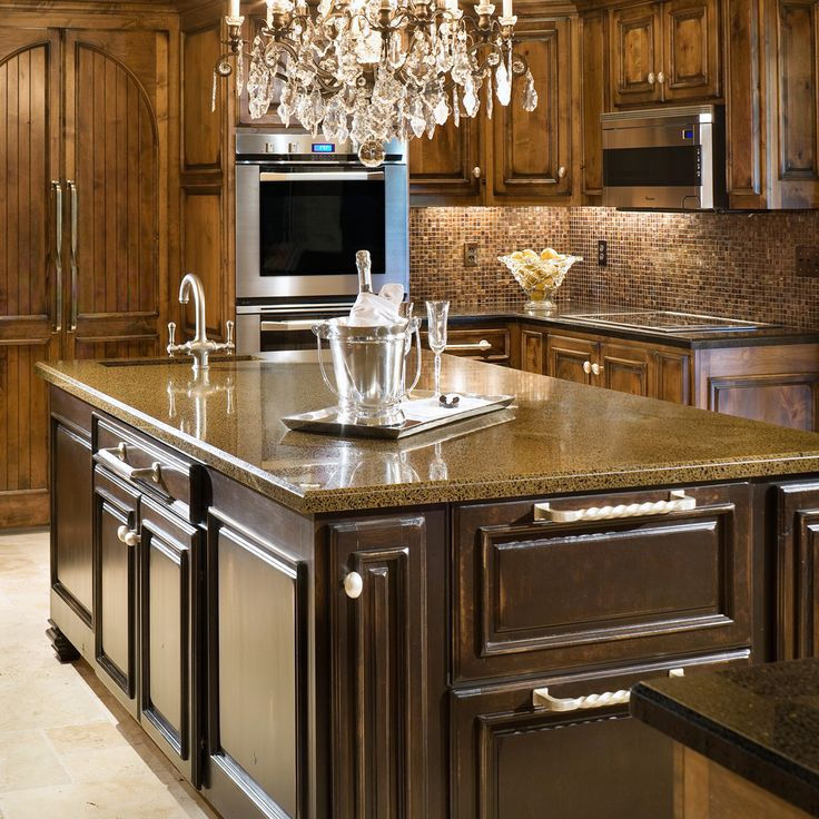 Best Counter Images On Pinterest Granite Countertops - High end kitchen countertops