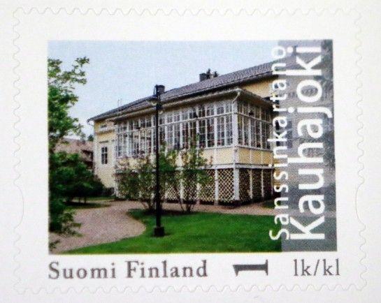 Sanssinkartanon on postimerkkiä varten kuvannut Hannu Isomäki. Kauhajoki.