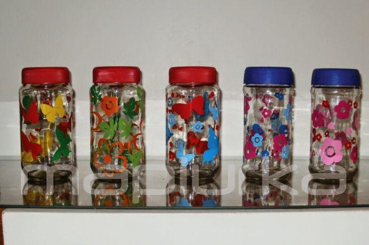 Pintura google and search on pinterest - Frascos de vidrio decorados ...