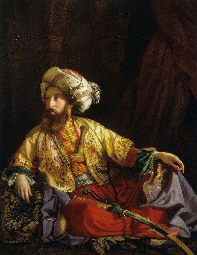 Borsos József (Veszprém, 1821. december 21. – Budapest, 1883. augusztus 19.) - Emir from Lebanon