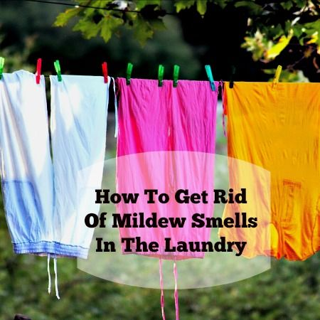 You fell asleep binge-watching Netflix and now the laundry stinks? Don't panic! Here's how to get the mildew smells out using ingredients you already have at home.