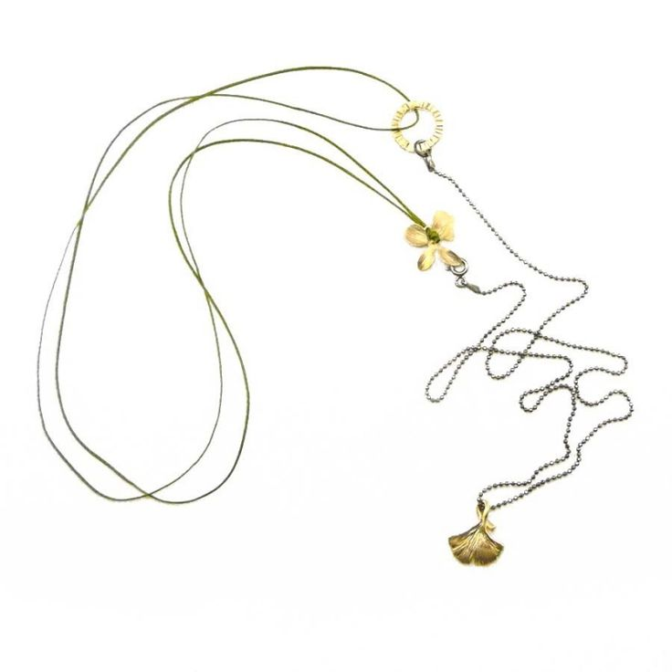 Ginko Biloba Necklace - Adorable Adornments