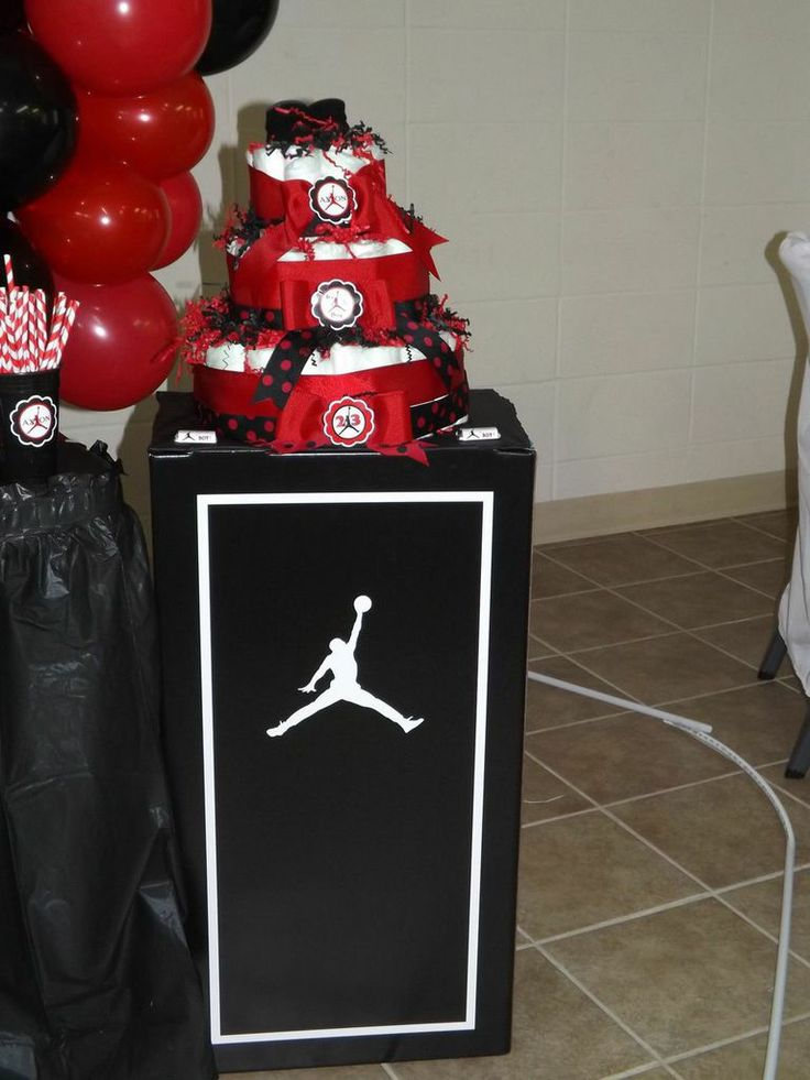 1000 images about jordan theme baby shower that i created custom