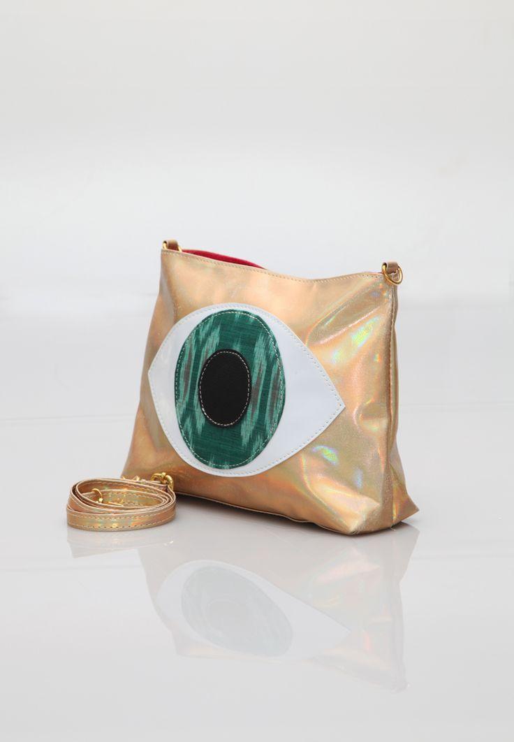 Manikan Eye Bag, Ikat Bag, Ikat Clutch