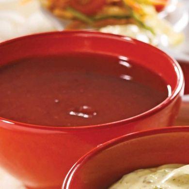 Sauce aux prunes et aux canneberges - Recettes - Cuisine et nutrition - Pratico Pratique